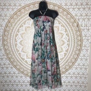 Anthropologie Lapis floral dress or maxi skirt